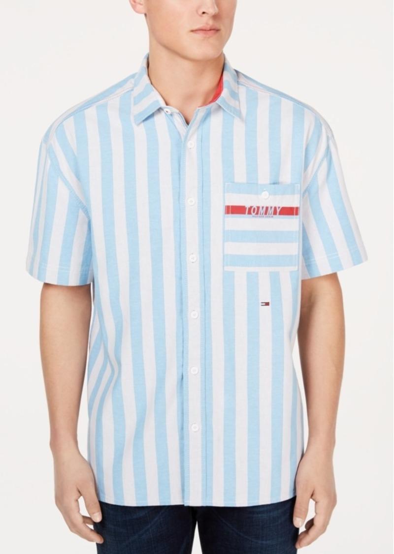 Tommy Hilfiger Men's Nicholas Striped Shirt