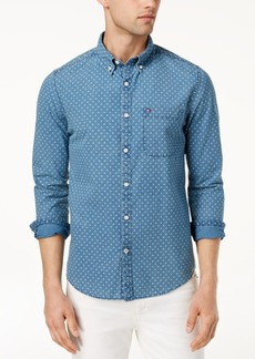 Tommy Hilfiger Men's Noble Printed Slim Fit Shirt, Created for Macy's