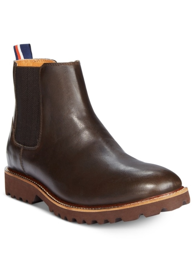 online shop 2018 sneakers get new Tommy Hilfiger Tommy Hilfiger Men's Ontario Chelsea Boots Men's Shoes |  Shoes