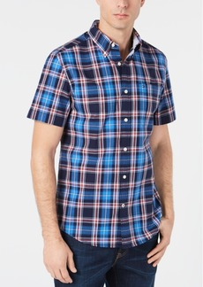 Tommy Hilfiger Men's Orser Madras Plaid Shirt, Created for Macy's