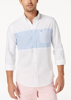 Tommy Hilfiger Men's Panel Oxford Shirt, Created for Macy's