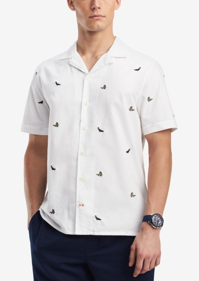 c3372ef10 Tommy Hilfiger Tommy Hilfiger Men's Parrot Camp Shirt, Created for ...