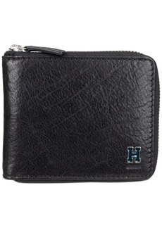 Tommy Hilfiger Men's Rfid Zip Around Wallet
