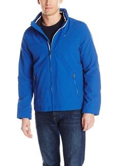 Tommy Hilfiger Men's Performance Taslan Windbreaker Jacket with Hidden Hood  S