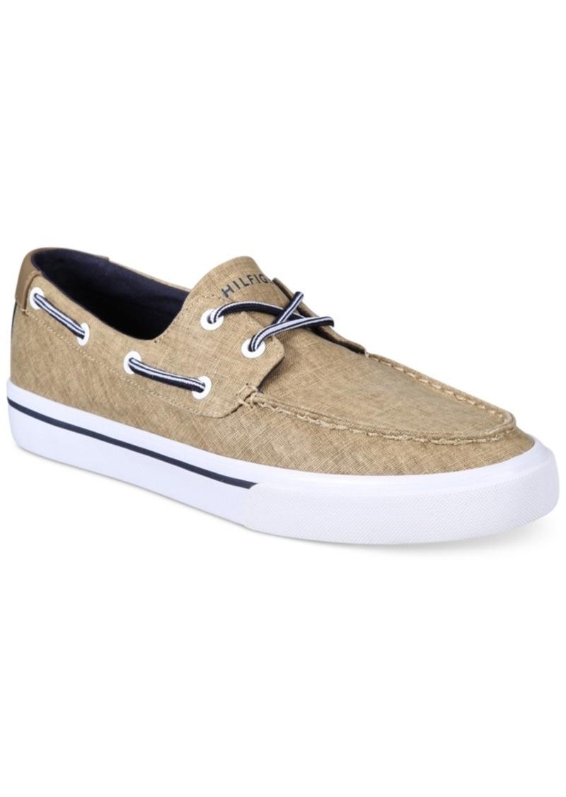 a6203c86ea6eb5 Tommy Hilfiger Tommy Hilfiger Men s Pharis Canvas Boat Shoes Men s ...