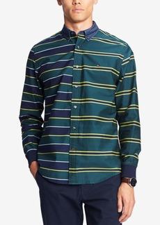 Tommy Hilfiger Men's Pieced Regi Striped Shirt