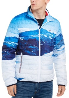 Tommy Hilfiger Men's Platinum Mountain Quilted Insulator Jacket