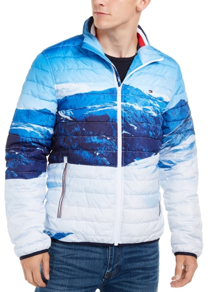 Tommy Hilfiger Men's Platinum Mountain Quilted Insulator Jacket