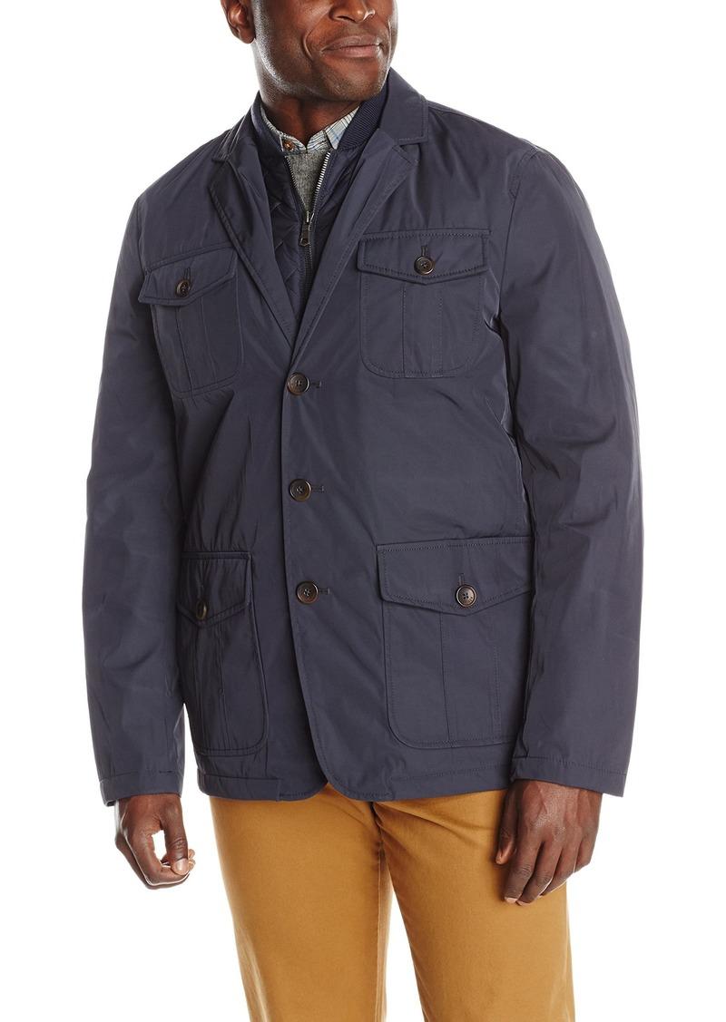 Tommy Hilfiger Men's Poly-Twill Four Pocket Blazer Jacket