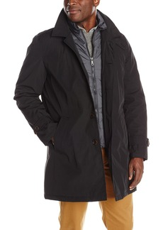 Tommy Hilfiger Men's Poly-Twill Trench