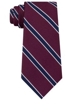 Tommy Hilfiger Men's Preppy Stripe Silk Tie