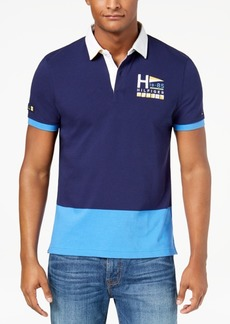 Tommy Hilfiger Men's Priestly Colorblocked Embroidered-Logo Polo