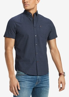 Tommy Hilfiger Men's Printed Slim Fit Shirt, Created for Macy's