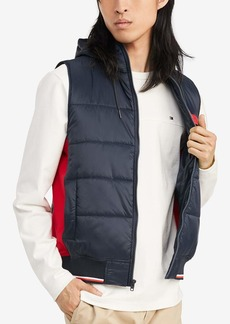 Tommy Hilfiger Men's Puffer Vest with Hood  2X-Large