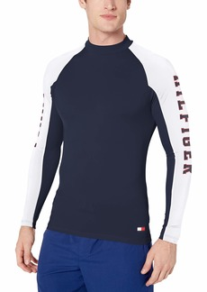 Tommy Hilfiger Men's Rash Guard Long Sleeve