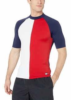 Tommy Hilfiger Men's Rash Guard Short Sleeve