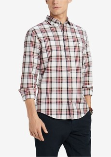 Tommy Hilfiger Men's Ray Classic Fit Plaid Shirt, Created for Macy's
