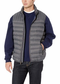 Tommy Hilfiger Men's Real Down Quilted Sport Puffer Vest