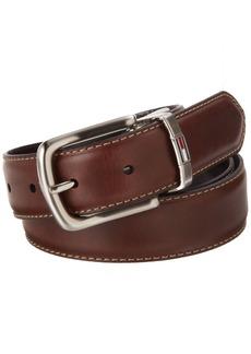 Tommy Hilfiger Men's Leather Reversible Belt/black