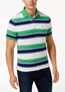 Tommy Hilfiger Men's Ricky Striped Slim Fit Polo