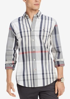 Tommy Hilfiger Men's Ronny Plaid Classic Fit Shirt, Created for Macy's
