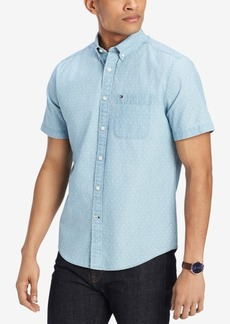Tommy Hilfiger Men's Russel Polka Dot Shirt, Created for Macy's