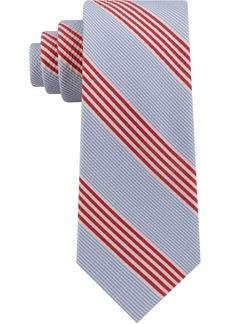 Tommy Hilfiger Men's Seersucker Stripe Silk Tie