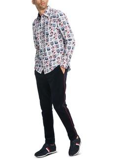 Tommy Hilfiger Men's Shield Print Shirt