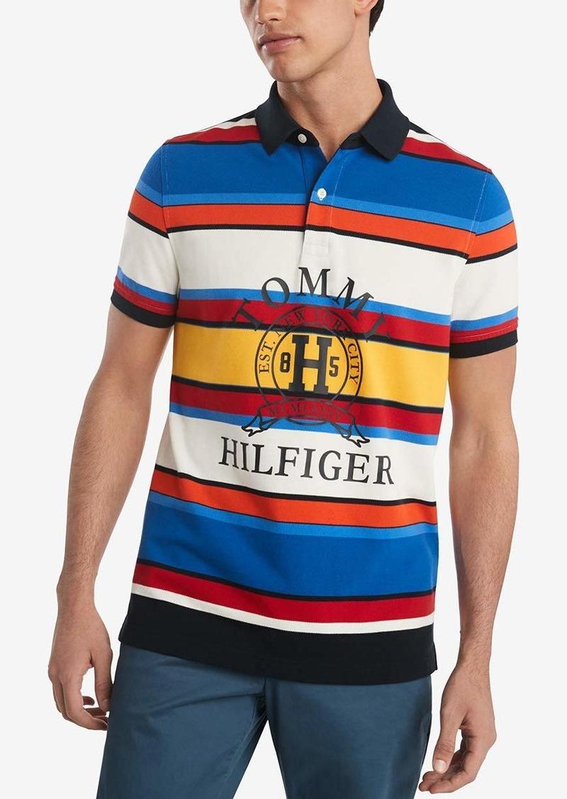 Tommy Hilfiger Men's Short Sleeve Boulder Polo Shirt in Custom Fit
