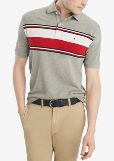Tommy Hilfiger Men's Short Sleeve Prescott Polo Shirt in Classic Fit