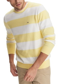 Tommy Hilfiger Men's Signature Rugby Striped Sweater