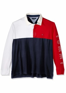 Tommy Hilfiger Men's Size Big and Tall Colin Rugby Shirt