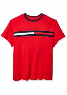 Tommy Hilfiger Men's Size Big and Tall Logo T Shirt  L
