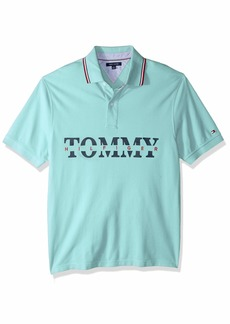 Tommy Hilfiger Men's Size Big and Tall Polo Shirt Custom Fit  3XL