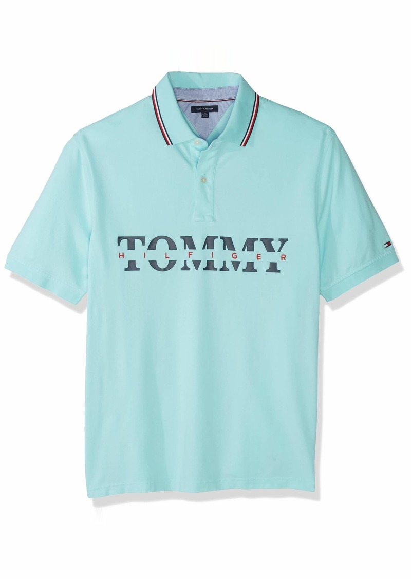 Tommy Hilfiger Men's Size Big and Tall Polo Shirt Custom Fit  4XL