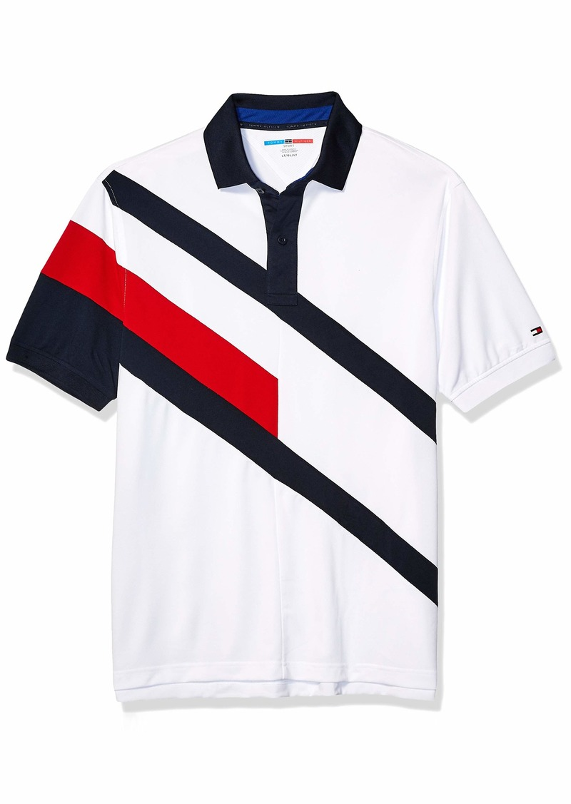 Tommy Hilfiger Men's Size Big and Tall Polo Shirt Custom Fit  L