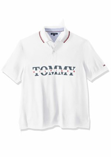 Tommy Hilfiger Men's Size Big and Tall Polo Shirt Custom Fit  XL