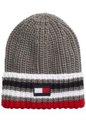 Tommy Hilfiger Men's Ski Patrol Striped Beanie