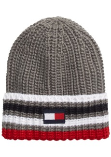 Tommy Hilfiger Men's Ski Patrol Striped Beanie