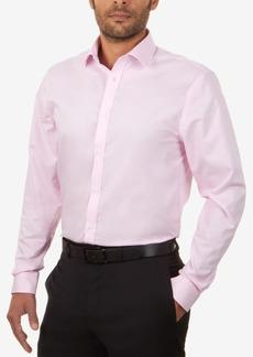 Tommy Hilfiger Men's Slim-Fit Non-Iron Solid Dress Shirt
