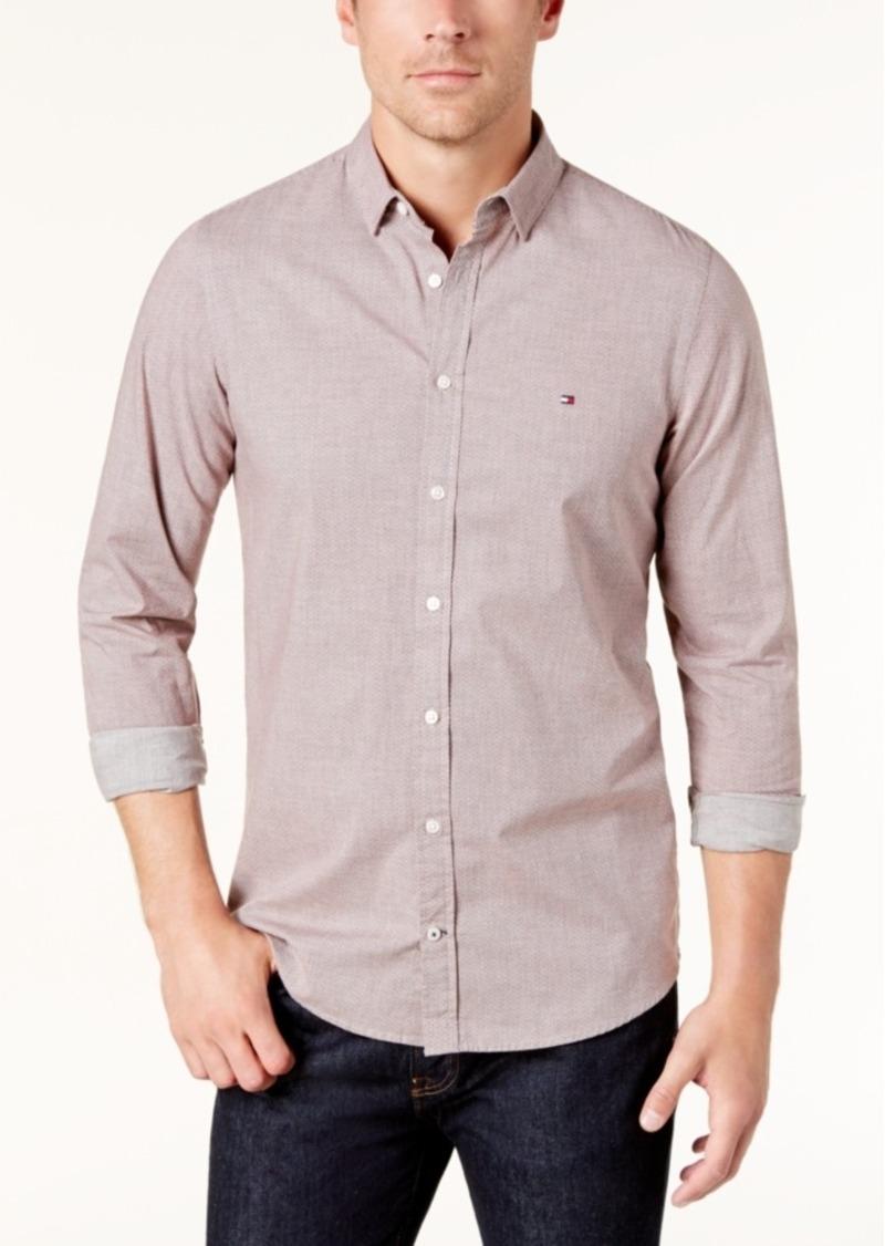 10903da79 SALE! Tommy Hilfiger Tommy Hilfiger Men's Slim-Fit Printed Shirt