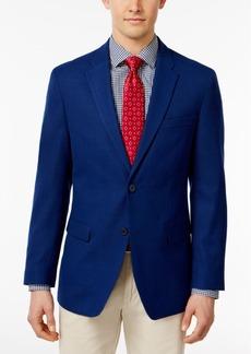 Tommy Hilfiger Men's Slim-Fit Royal Blue Stretch Performance Sport Coat