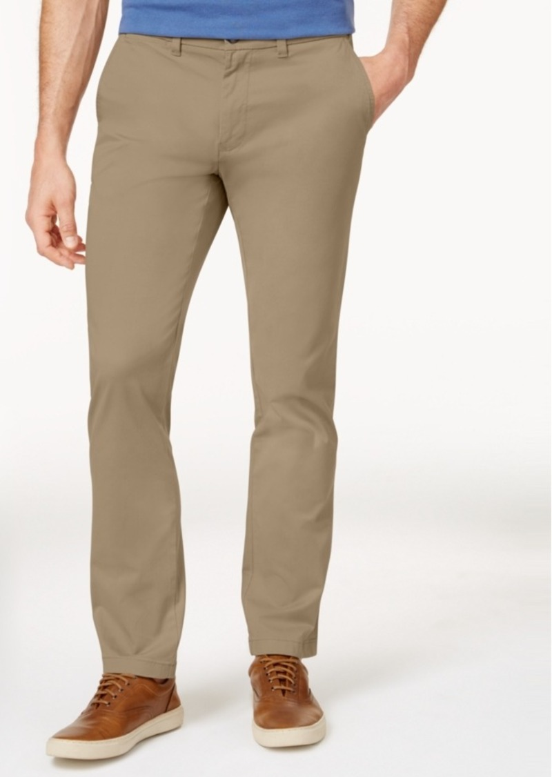 2bde27c17 Men's Th Flex Stretch Slim-Fit Chino Pants, Created for Macy's. Tommy  Hilfiger