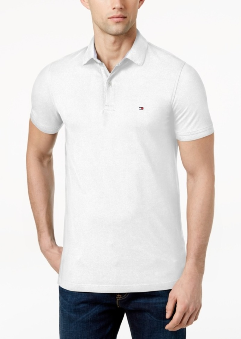 Tommy Hilfiger Men's Slim Fit Stretch Polo