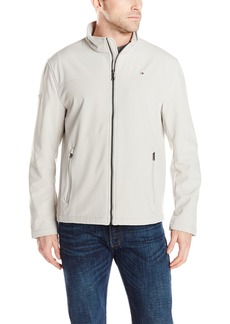 Tommy Hilfiger Men's Soft Shell Classic Zip Front Jacket
