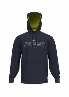 Tommy Hilfiger Men's Sport Hoodie Sweatshirt NAVY BLAZER-PT XL
