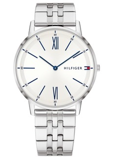 Tommy Hilfiger Men's Stainless Steel Bracelet Watch 40mm Created for Macy's