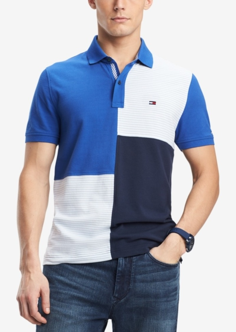 f72258f4 Tommy Hilfiger Tommy Hilfiger Men's Stevans Custom Fit Polo | Casual ...