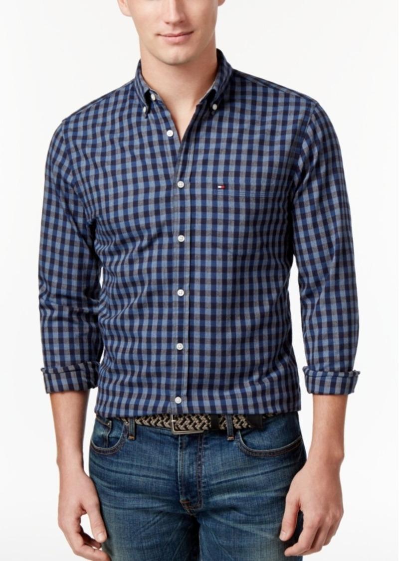 Tommy Hilfiger Men's Stewart Gingham Shirt