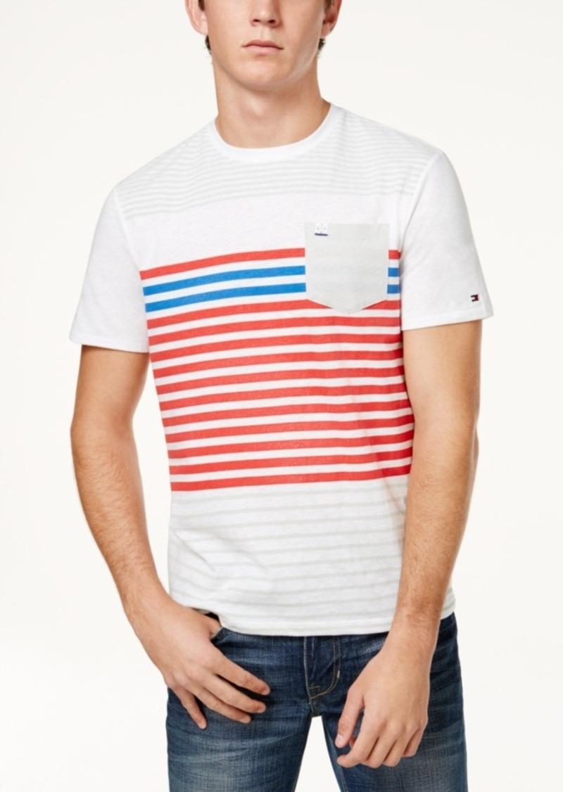 9e54538f1b On Sale today! Tommy Hilfiger Tommy Hilfiger Men's Striped Slub T-Shirt